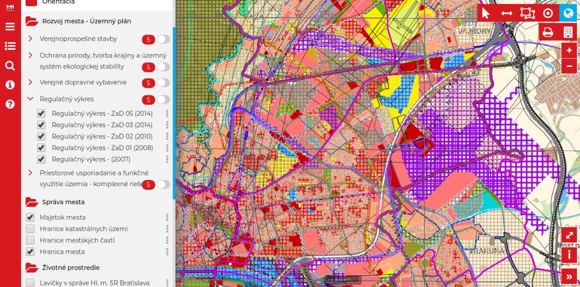 3dec26c67 Digitálne mapy pozemkov a využitie geoinformatiky v katastri ...